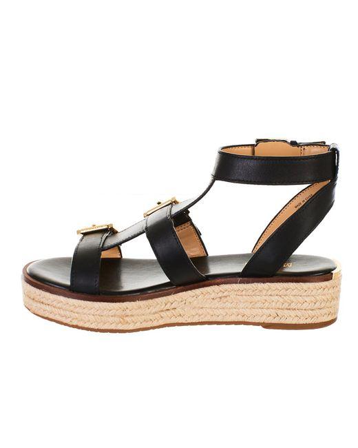 868c6f86f9b9 Lyst - MICHAEL Michael Kors Black Cunningham Sandals in Black