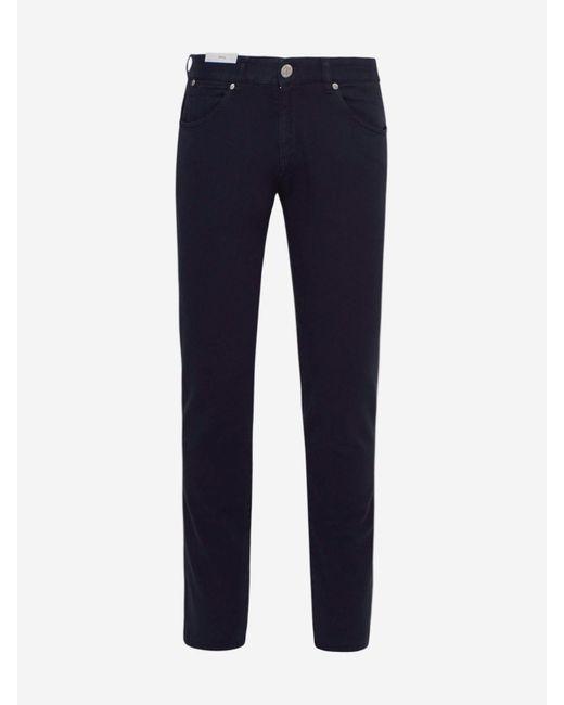 Pt05 Blue Jeans Super Slim Blu for men