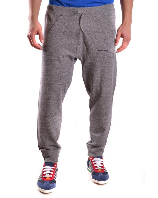 DSquared² - Gray Trousers for Men - Lyst