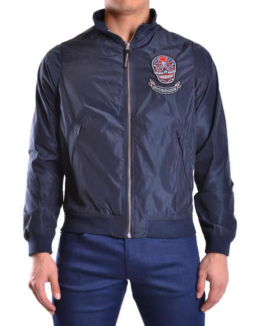 Hydrogen - Blue Jacket for Men - Lyst