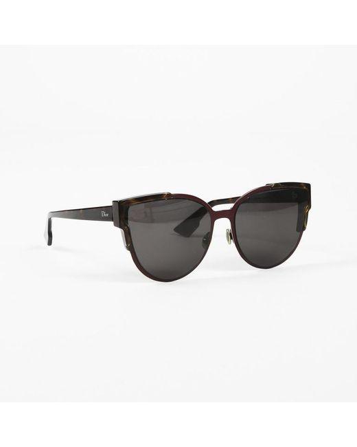 52a7112556 Dior Cat Eye Sunglasses in Black - Lyst