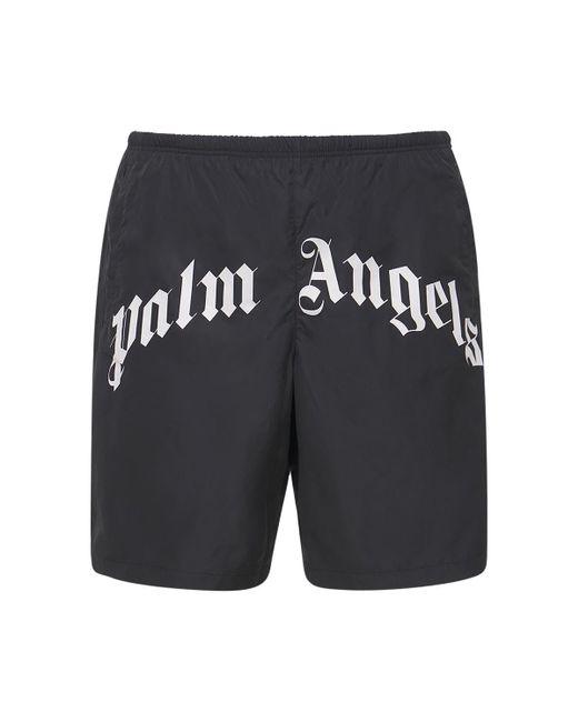Нейлоновые Шорты Для Плавания Palm Angels для него, цвет: Black