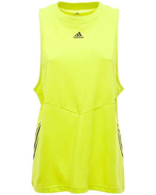 Adidas Originals オーバーサイズタンクトップ Yellow