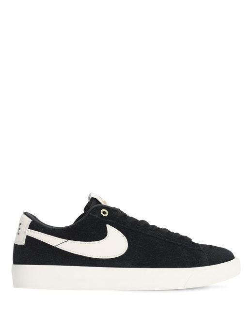 Кроссовки Sb Blazer Low Gt Nike, цвет: Black