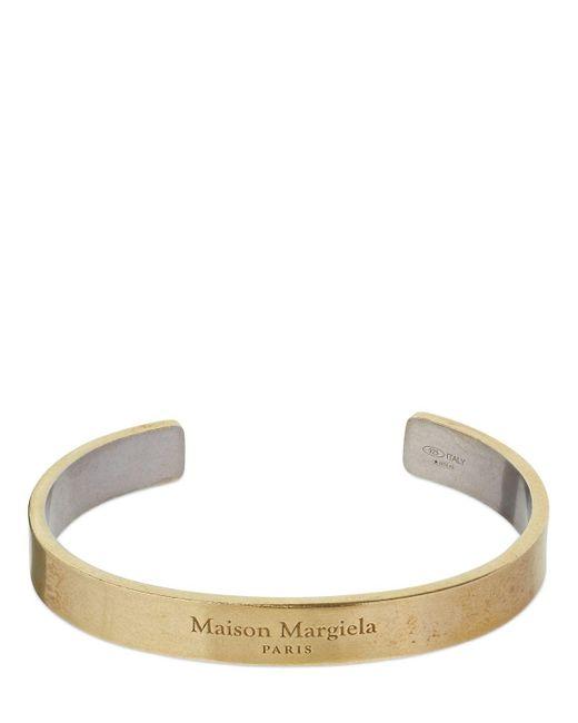 "Maison Margiela Multicolor Zweifarbiges Manschettenarmreif """""