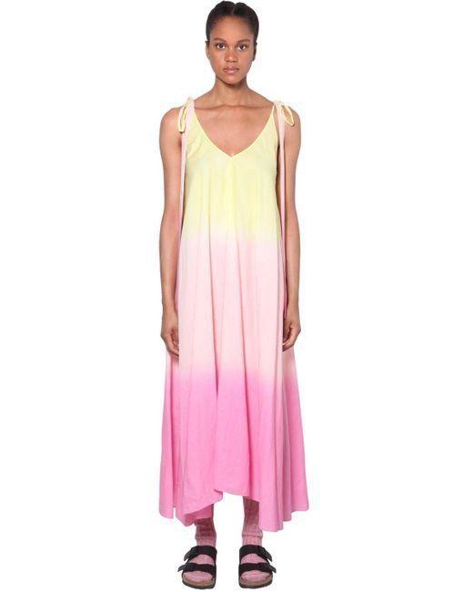 Alanui オーガンザドレス Pink