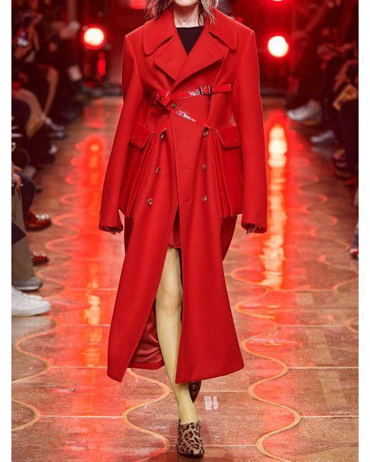 Junya Watanabe ウールコート Red