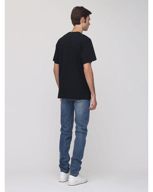 メンズ Moschino コットンtシャツ Black