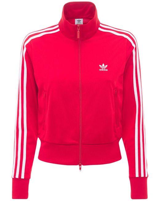 Adidas Originals 3 Stripes トラックジャケット Red