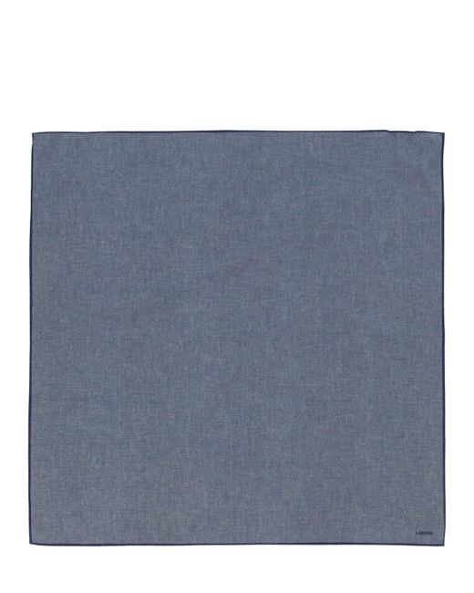 Écharpe En Coton Lardini pour homme en coloris Blue