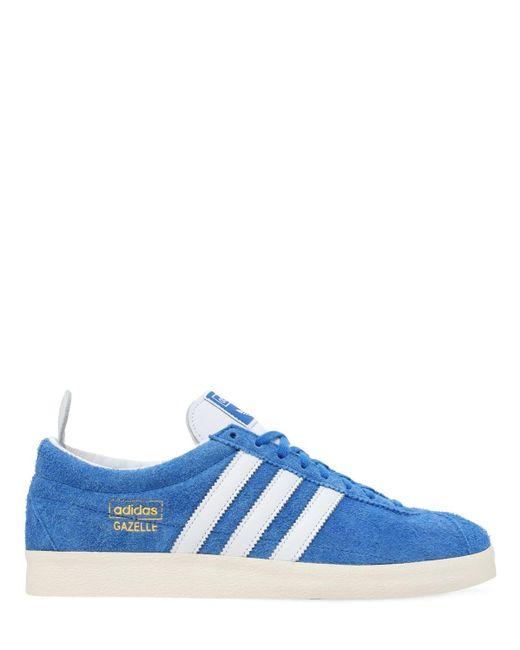 メンズ Adidas Originals Gazelle Vintage スニーカー Blue