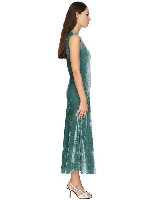 Sies Marjan ベルベットドレス Green