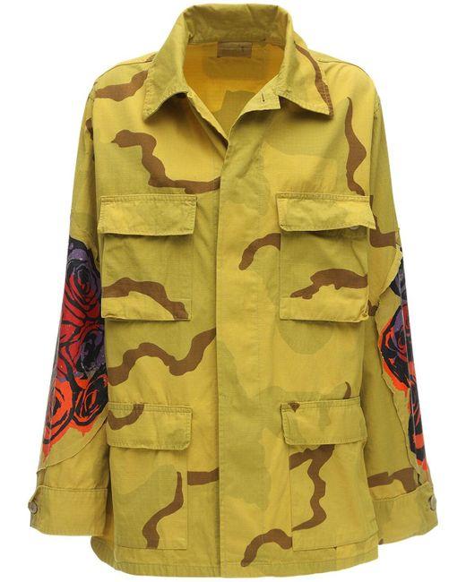 R13 コットンキャンバスジャケット Multicolor