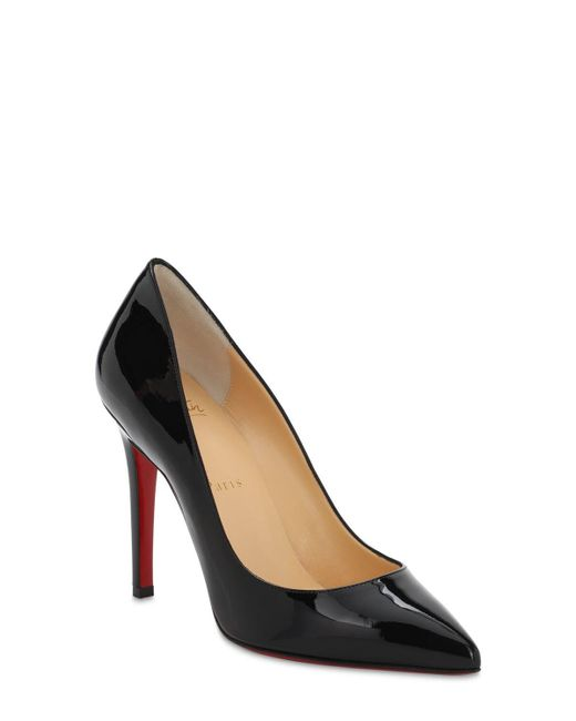 Christian Louboutin Pigalle パテントレザーパンプス 100mm Black