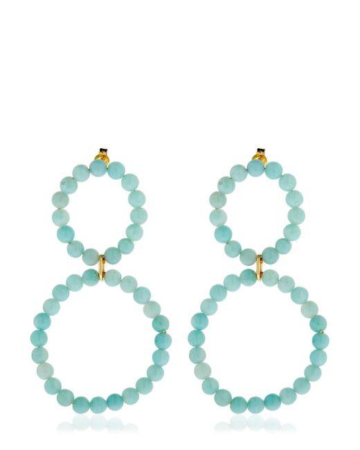 Saskia Diez - Blue Holiday Amazonite Earrings - Lyst