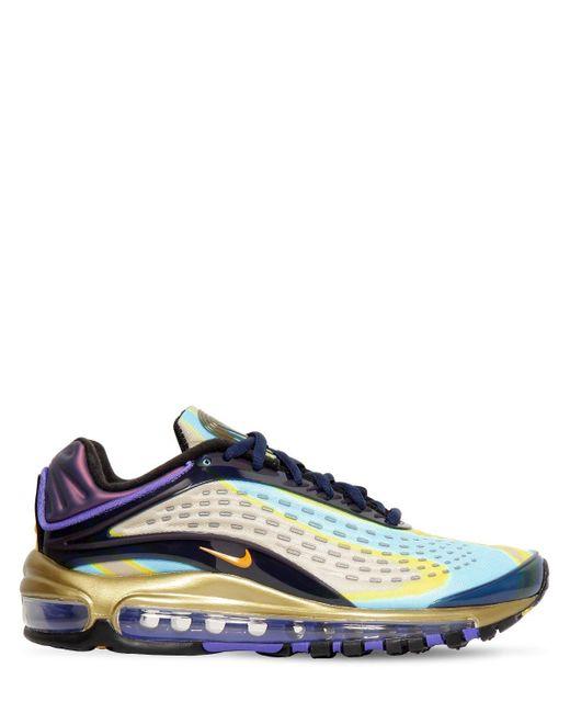 メンズ Nike Air Max Deluxe 1999 Og スニーカー Blue