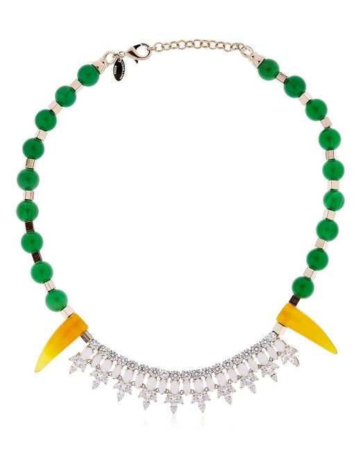 Iosselliani - Green Colors Of Burma Necklace - Lyst