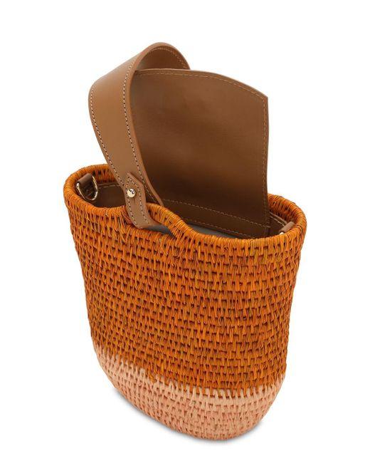 """Сумка Из Рафии """"zandi"""" Khokho, цвет: Brown"""