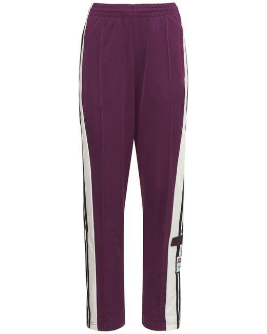 Adidas Originals Adibreak トラックパンツ Purple