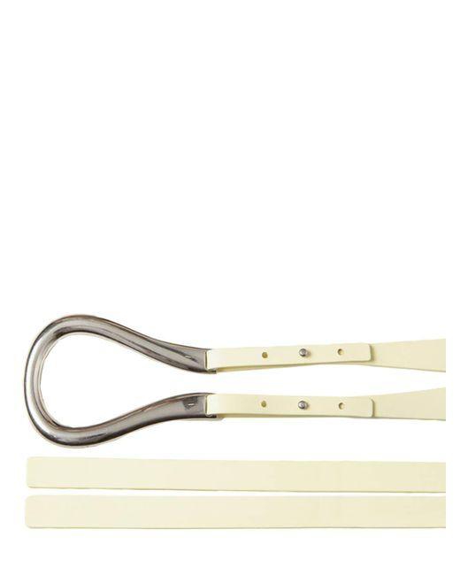 Кожаный Ремень 5cm Bottega Veneta, цвет: Natural