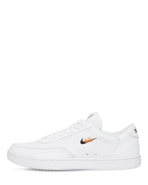 メンズ Nike Court Vintage Premium スニーカー White