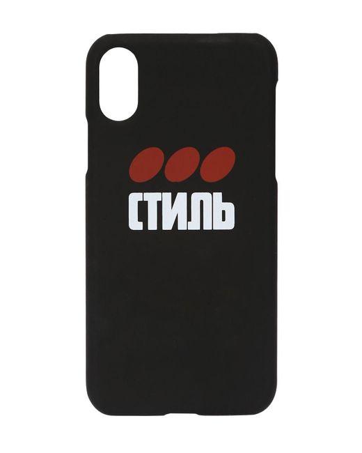 Heron Preston ブラック Style ドット Iphone Xs ケース Black