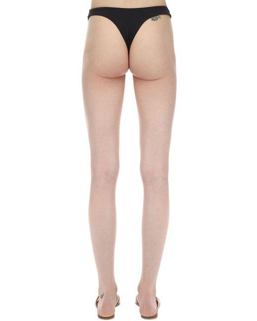 Braguitas De Bikini De Lycra AEXAE de color Black