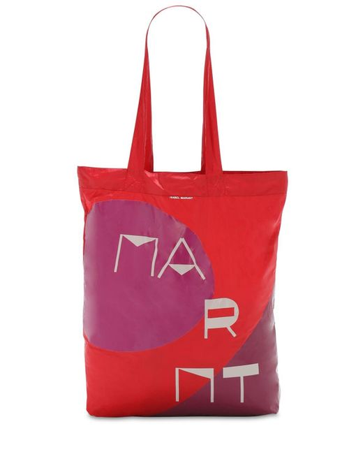 Isabel Marant Woom ナイロントートバッグ Red