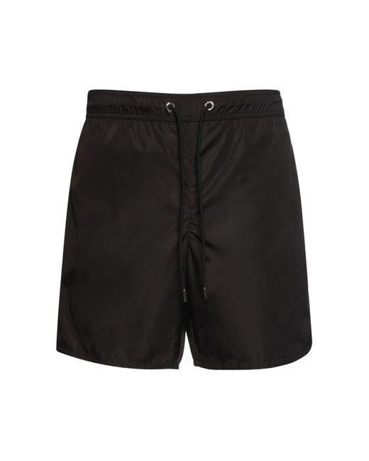 Купальные Шорты Из Нейлона Moncler для него, цвет: Black