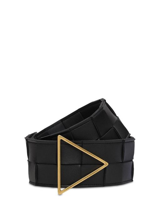 Bottega Veneta Intrecciato ベルト 6cm Black