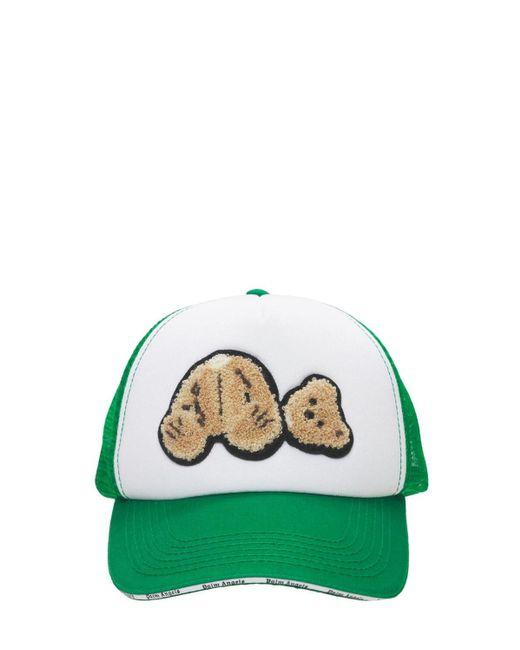 メンズ Palm Angels Bear キャップ Green