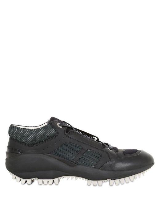 Lanvin - Black Running Sneakers for Men - Lyst