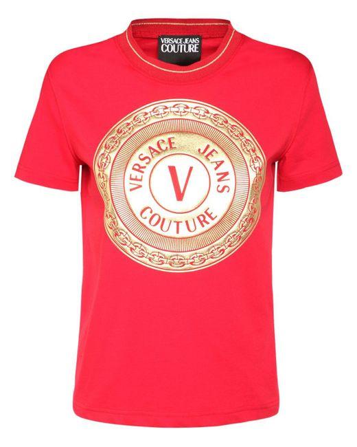 Versace Jeans ジャージーtシャツ Red