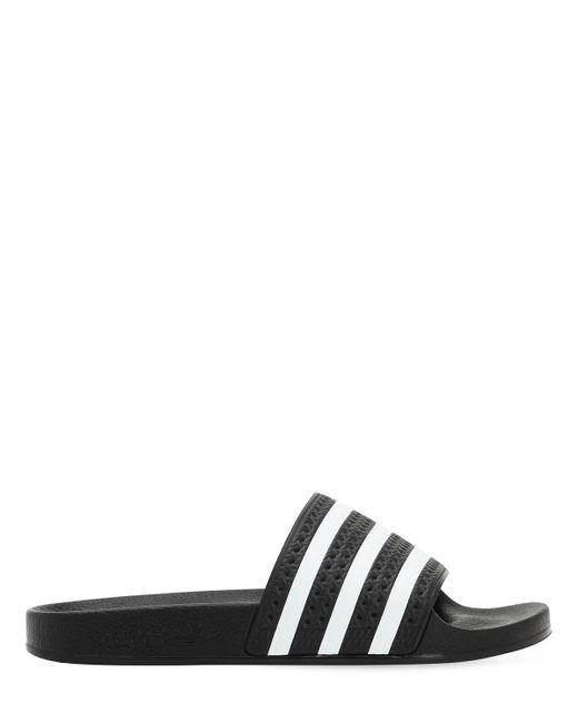 "Claquettes À Rayures ""adilette"" Adidas Originals en coloris Black"