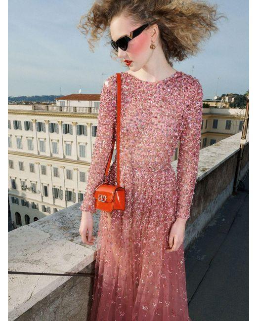 Valentino チュールドレス Pink