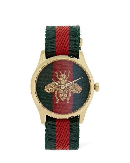 Gucci Web & Bee ウォッチ 38mm Multicolor
