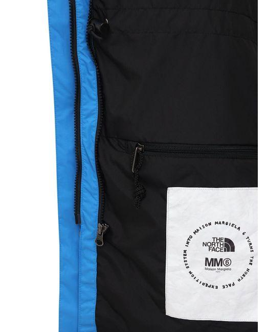 MM6 by Maison Martin Margiela Northface X Mm6 サークルウィンドブレーカー Blue