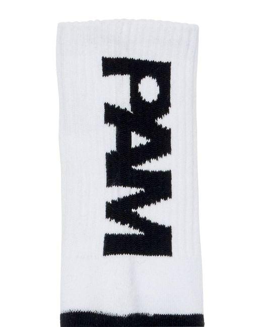 メンズ P.a.m. Perks And Mini コットンブレンドソックス Black