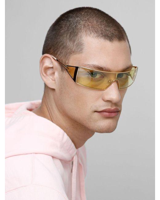 Le Specs Adam Selman The Luxx スクエアサングラス Metallic