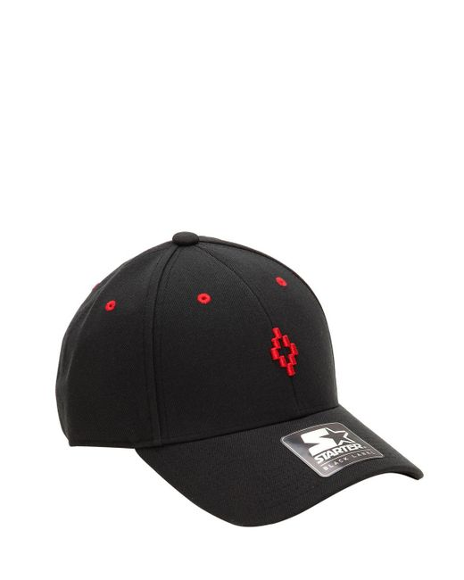 a65caa9cbe0 ... Marcelo Burlon - Black Starter Cruz Wool Blend Baseball Hat for Men -  Lyst ...