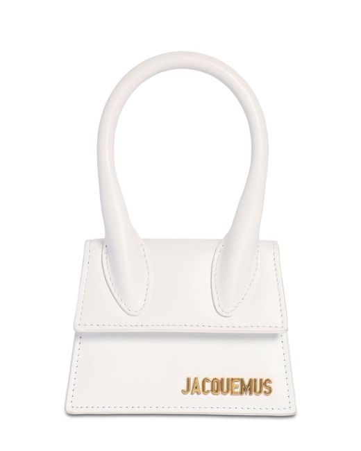 "Кожаная Сумка ""le Chiquito"" Jacquemus, цвет: White"