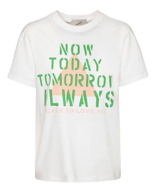 Coperni Now Today コットンtシャツ White