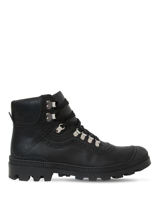 メンズ Loewe ブラック ハイキング ブーツ Black