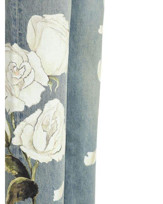 Джинсы Из Денима 19cm Amiri для него, цвет: Blue