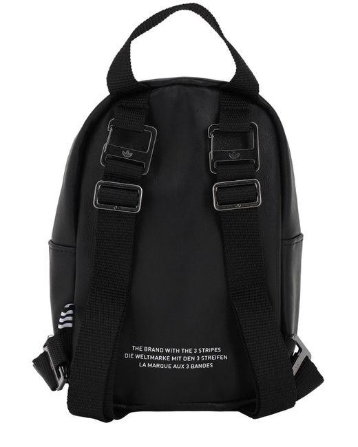 Adidas Originals フェイクレザー バックパック Black