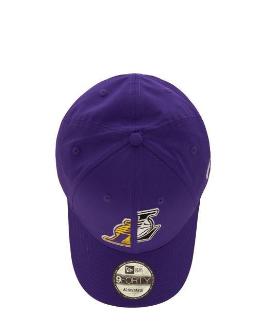 メンズ KTZ La Lakers 9forty キャップ Purple
