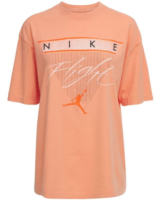 Nike Jordan Gfx Tシャツ Orange