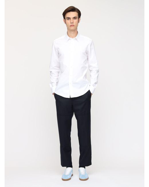 メンズ Lanvin コットンシャツ White