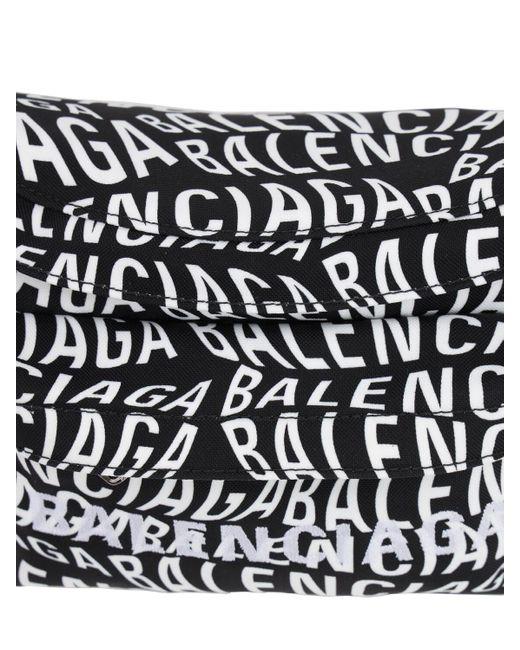 Balenciaga Gürteltasche Aus Nylon Mit Logo in Black für Herren