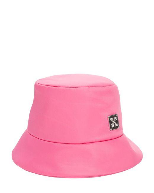 Непромокаемая Панама Из Нейлона Off-White c/o Virgil Abloh, цвет: Pink